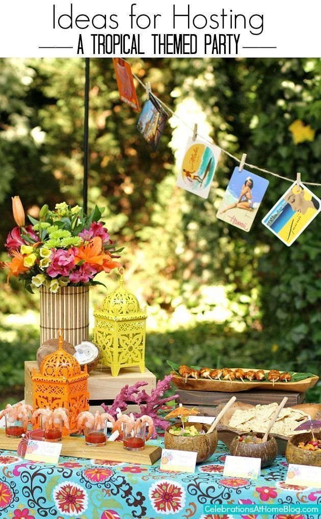 These are the only tropical themed party ideas you need! #hawaiianluauparty idea… –  #hawai…