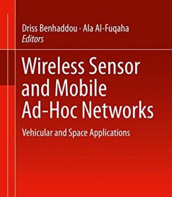 Wireless Sensor And Mobile Ad-Hoc Networks PDF