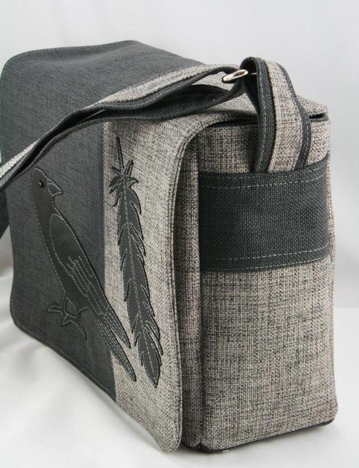 Veľké tašky - taška Vrana -