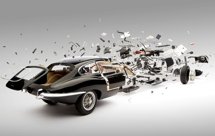 Look at These Amazing Exploded Views of Classic Sports Cars | Design | WIRED