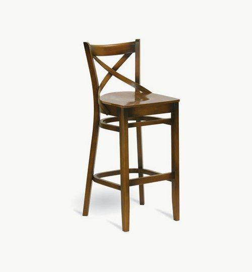Barstol som går att få med stoppad sits, många tyger att välja på. Ingår i en serie med stol och karmstol. b x dj x h 460mm x 505mm x 1100mm Vikt 7kg Sitthöjd 760mm Info Levereras monterad. Säljes endast i hela förpackningar à2st. Frakt 1 kolli = 1 produkter = 7,5 kg = 0.32 m 3  Tyg Lido>100 000 Martindale, 100 % polyester, brandklassad. Tyg Luxury> 40 000 Martindale, 100 % polyester, brandklassad. Konstläder Pisa, b...