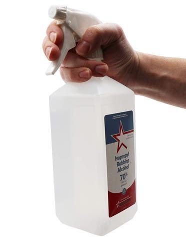 Healthstar 70% 32 Oz Isopropyl Alcohol Spray – Cleans
