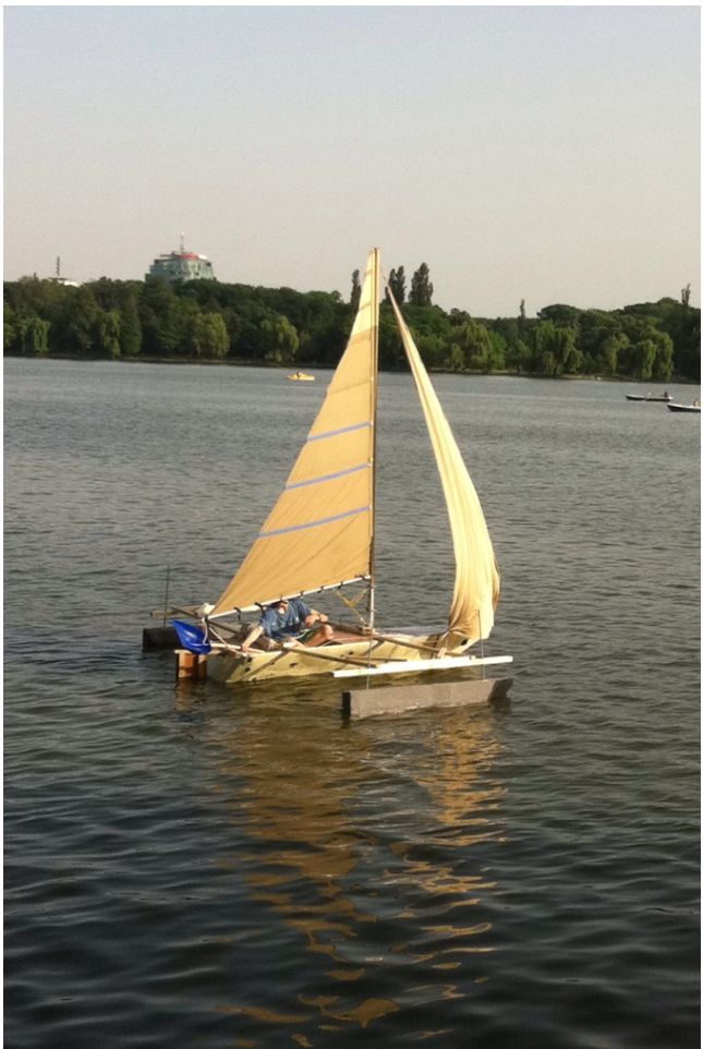 How to build a sailboat for about $500.00.    This comes from a site called Instructables.com.  I highly recommend signing up for the newsletter.  It is an excellent site for DIY'ers!!!!