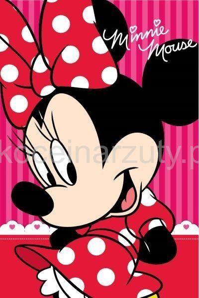 Minnie Mouse disney czerwony dziecięcy ręcznik