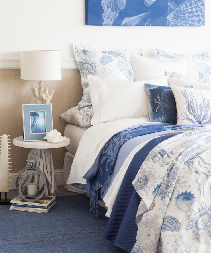 Camera da letto dal sapore estivo