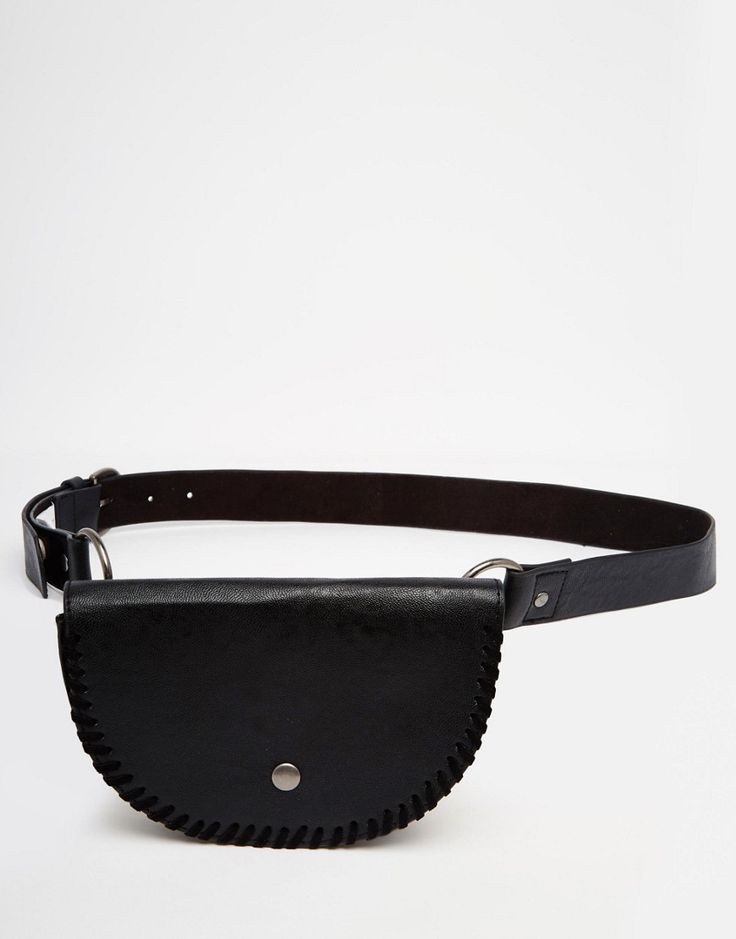 Image 1 of New Look Whipstitch Purse Belt