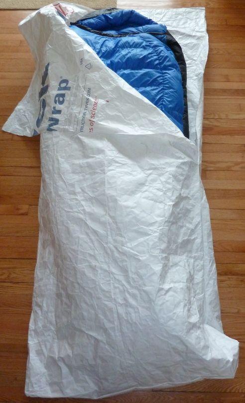 DIY Tyvek Bivy.  It's waterproof.  Add it to your prepper bag.
