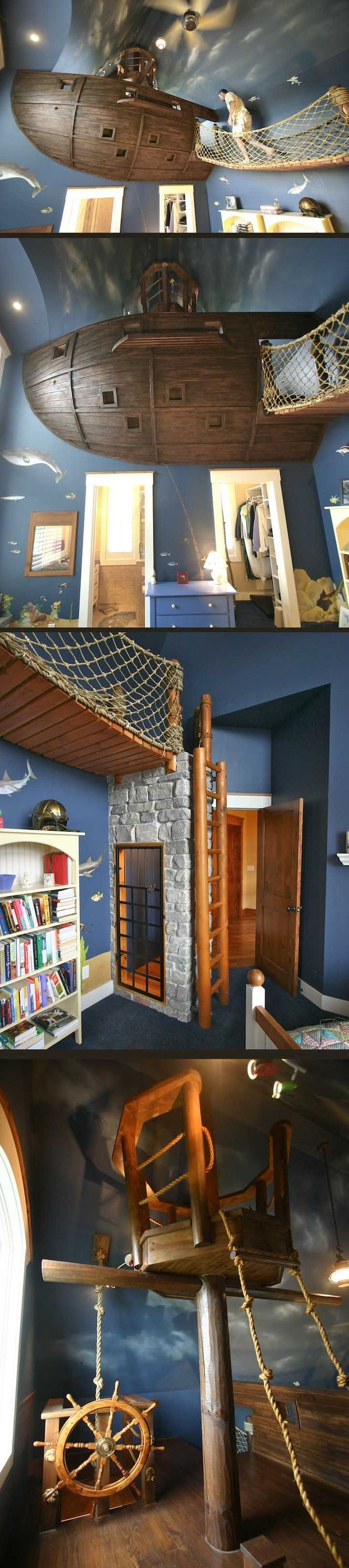 64 best Kids bedrooms images on Pinterest | Child room, Play rooms ...