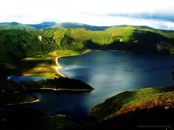 Lagoa do Fogo, São Miguel island, Azores Islands, Portugal