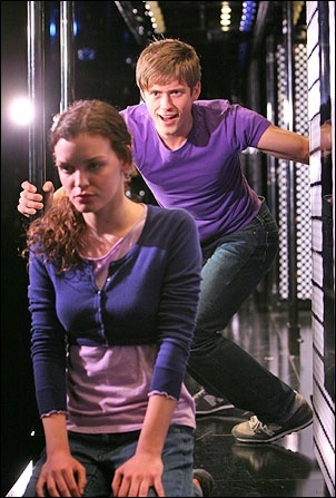 superboy and the invisible girl (Next to Normal) Aaron is so attractive even in this horribly sad character