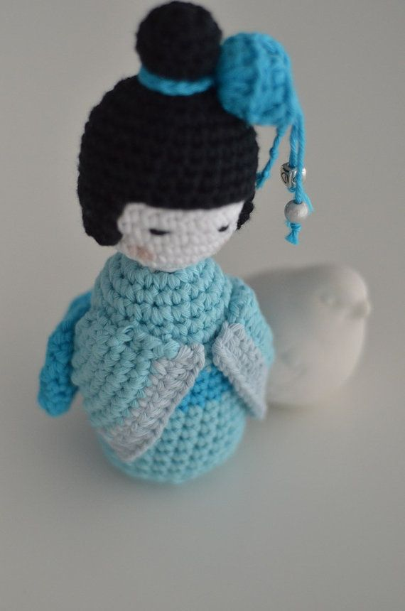Amigurumi Free Patterns Geisha : Boss Kokeshis to customize Beautiful, Dolls and Geishas