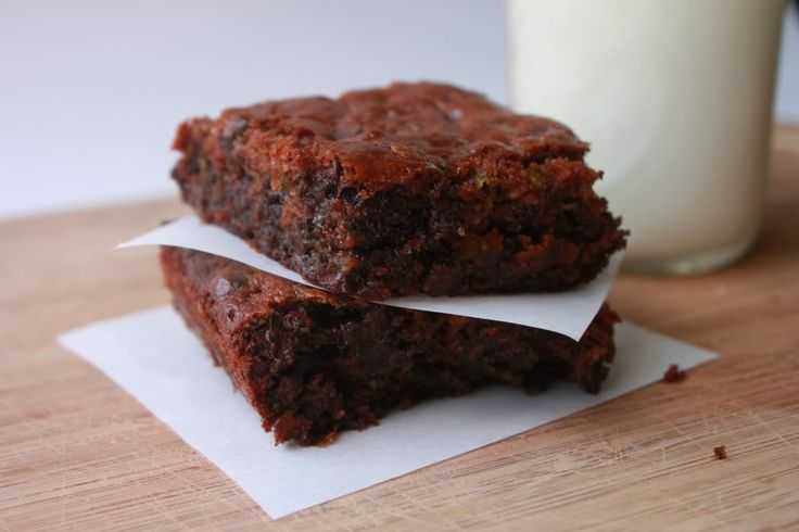Delighted Momma: Flourless Zucchini Brownies