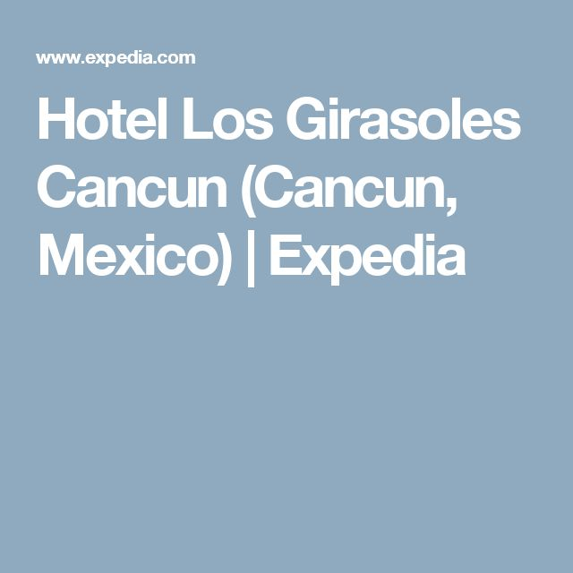 Hotel Los Girasoles Cancun (Cancun, Mexico) | Expedia