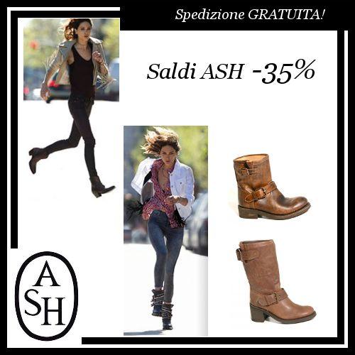 ★ SALDI ASH ★  Scopri la nostra selezione di #calzature #Ash oggi scontate al 35%!!! La #spedizione è GRATUITA in tutta Italia!