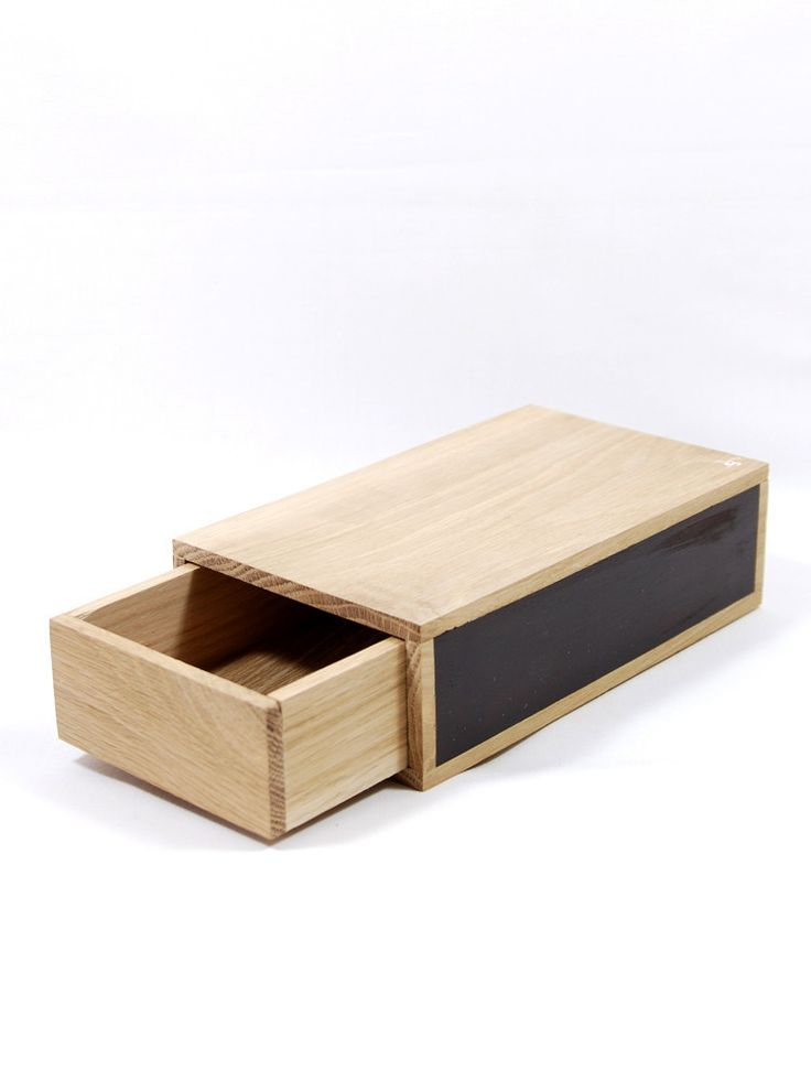 Wooden Matchbox Storage