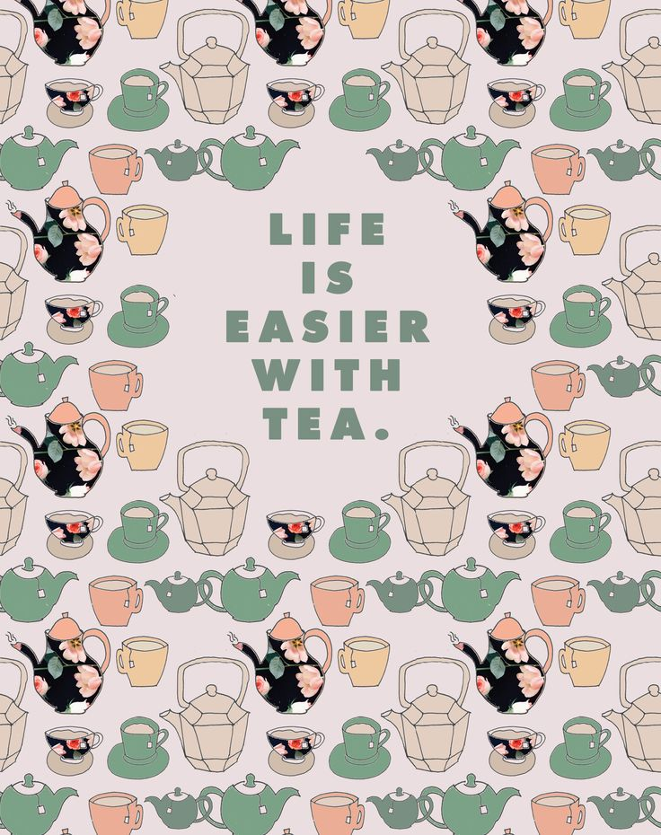 Life is easier with tea. Created by @JustinaBlakeney for @tradmedicinals. #teatime #plantmoment