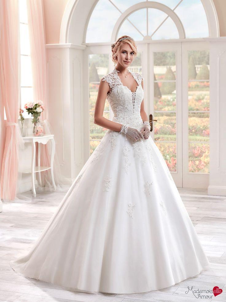 Robe de mariée Mlle Pashmina, robe de mariée féerique, robe de mariage larges…