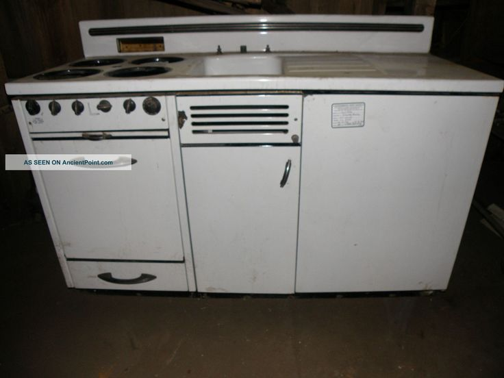 An Original Murphy Kitchen Unit It Has A Stove Oven Sink