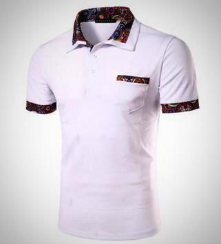 Dressed polo shirt with pocket Samir (moutain). In 3 colours