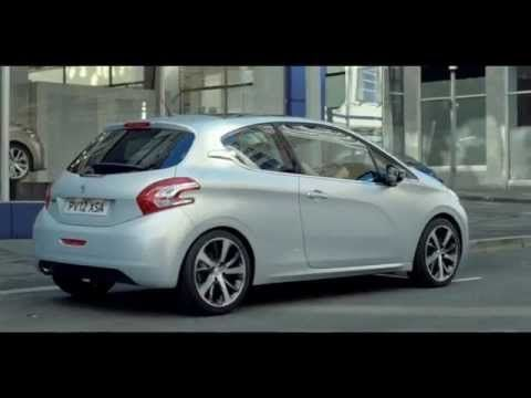 The new tv advert for the Peugeot 208