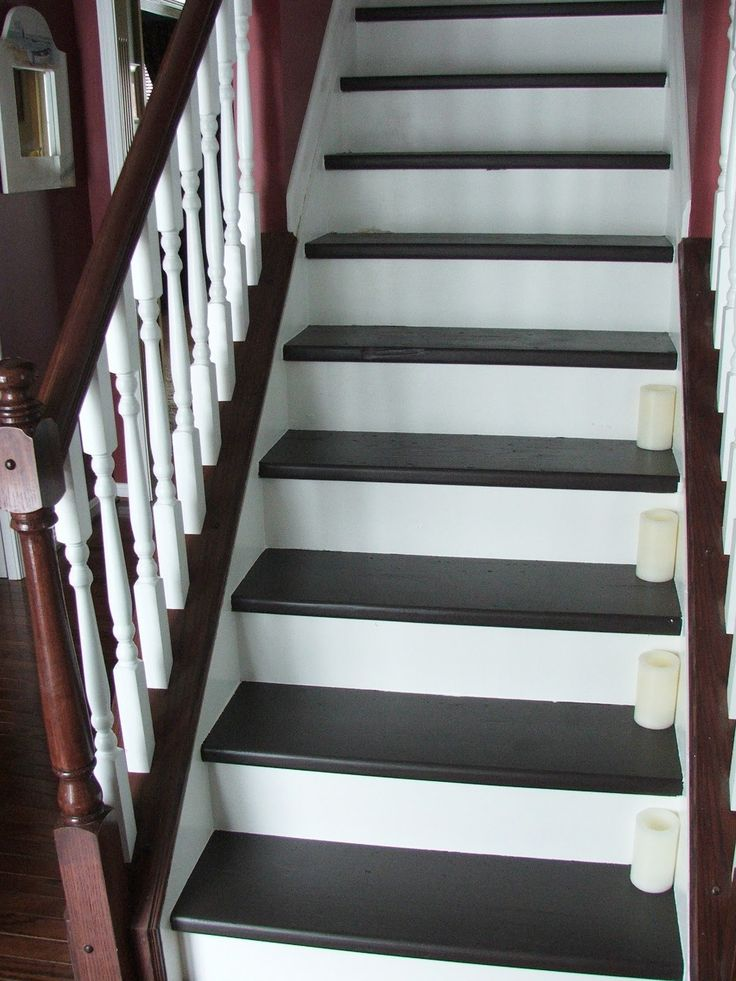 Best 34 Budget Diy Makeover Carpeted Stairs To Wooden Treads 640 x 480