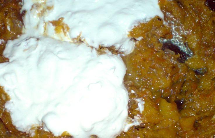 Házias receptek : Sütőtök püre tejföllel - filléres eledel