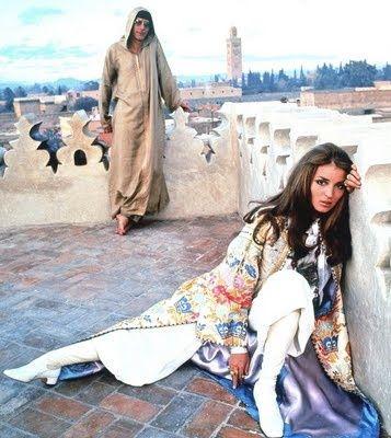 YSL Kaftan Morocco 1969