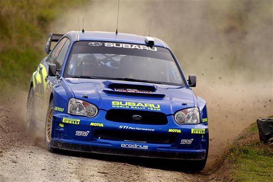 Subaru STI World Rally Car
