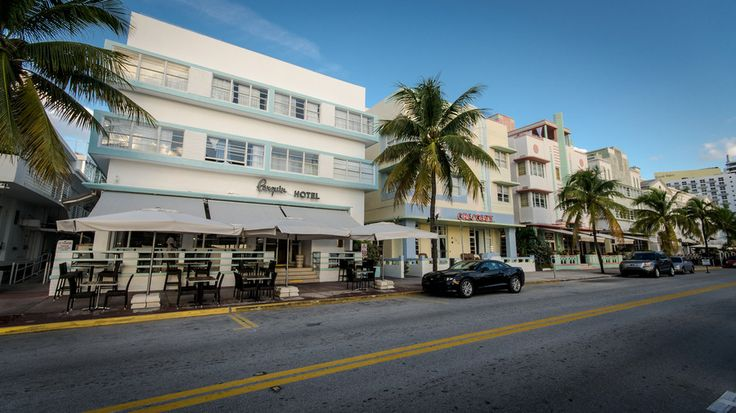 Art Deco At Ocean Drive by W T