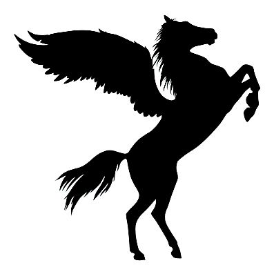 Car-styling-decals-font-b-horse-b-font-with-wings-pegasus-13cm-x13cm-car-motorcycle-font.jpg (397×397)