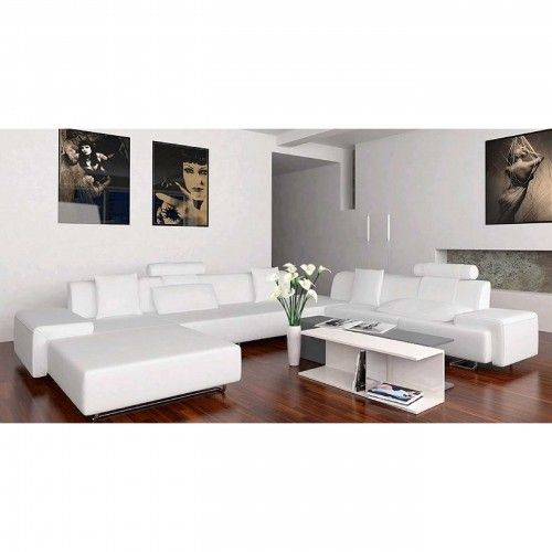 White Pleather Furniture