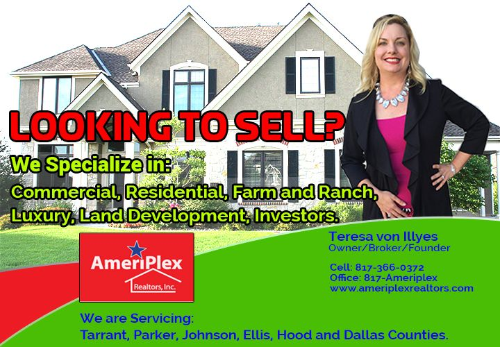 Star Telegram's Best Local Real Estate Company 2013! | Fort Worth Magazine's Local Top Realtor 2016 | Call or email now to meet our great agents! | FREE Moving Boxes to all our clients & FREE Home Warranty | www.ameriplexrealtors.com