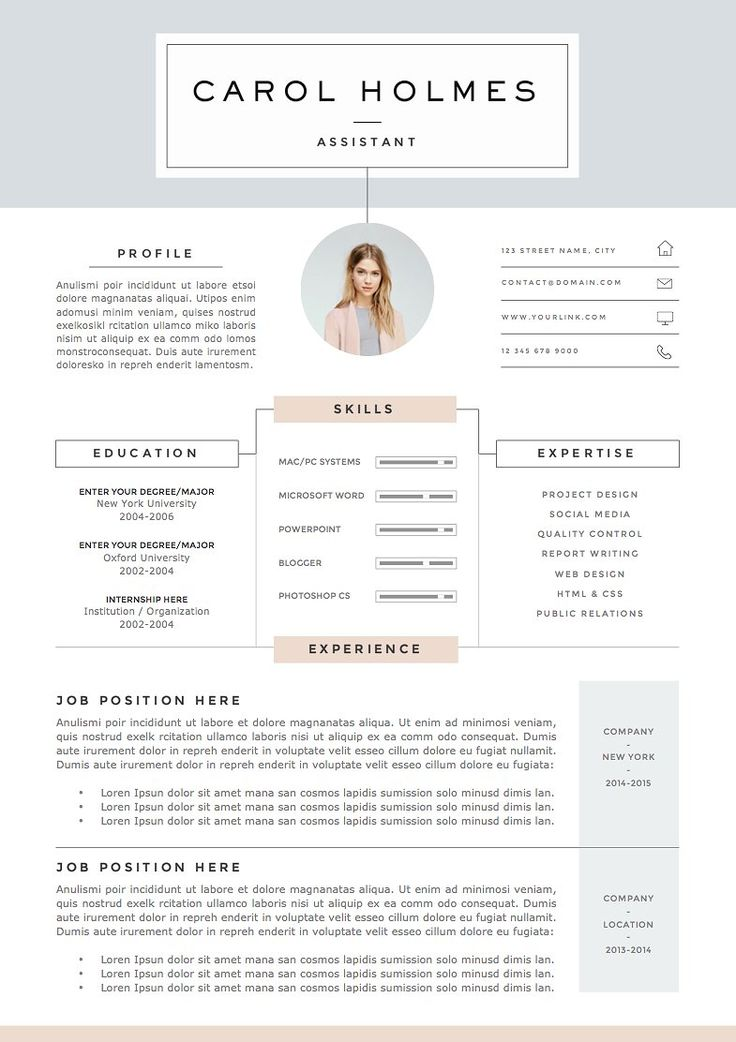 Best Cv Creatif Images On   Resume Resume Design And