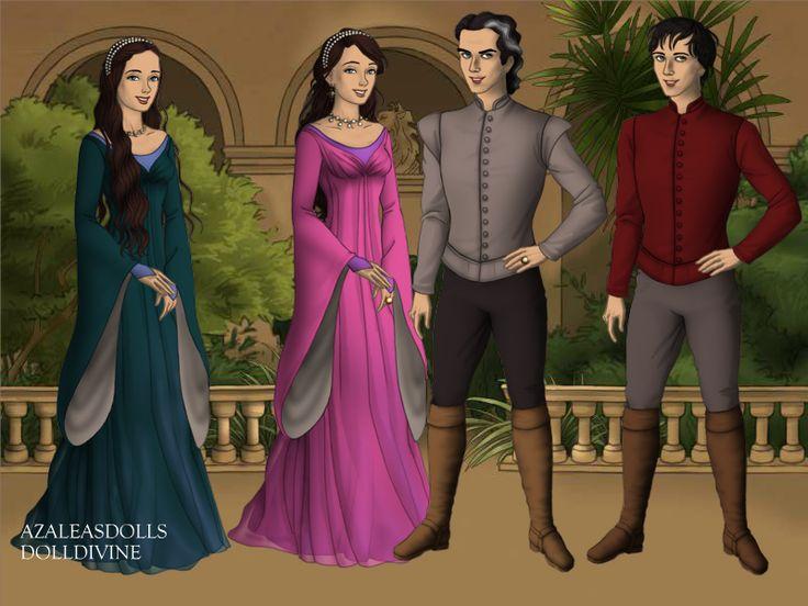Louisa,Mom Matilda,Dad Benedict and Elliott