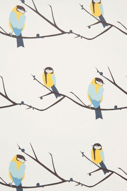 Juneberry & Bird - Kids Wallpapers - Kids Bedroom Ideas - Children's Room Decorating (http://houseandgarden.co.uk)