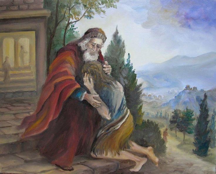 Írd le 3-4 mondatban, szerinted mit akart Jézus érzékeltetni és bemutatni hallgatóinak a tékozló fiúról elmondott példázatával?
