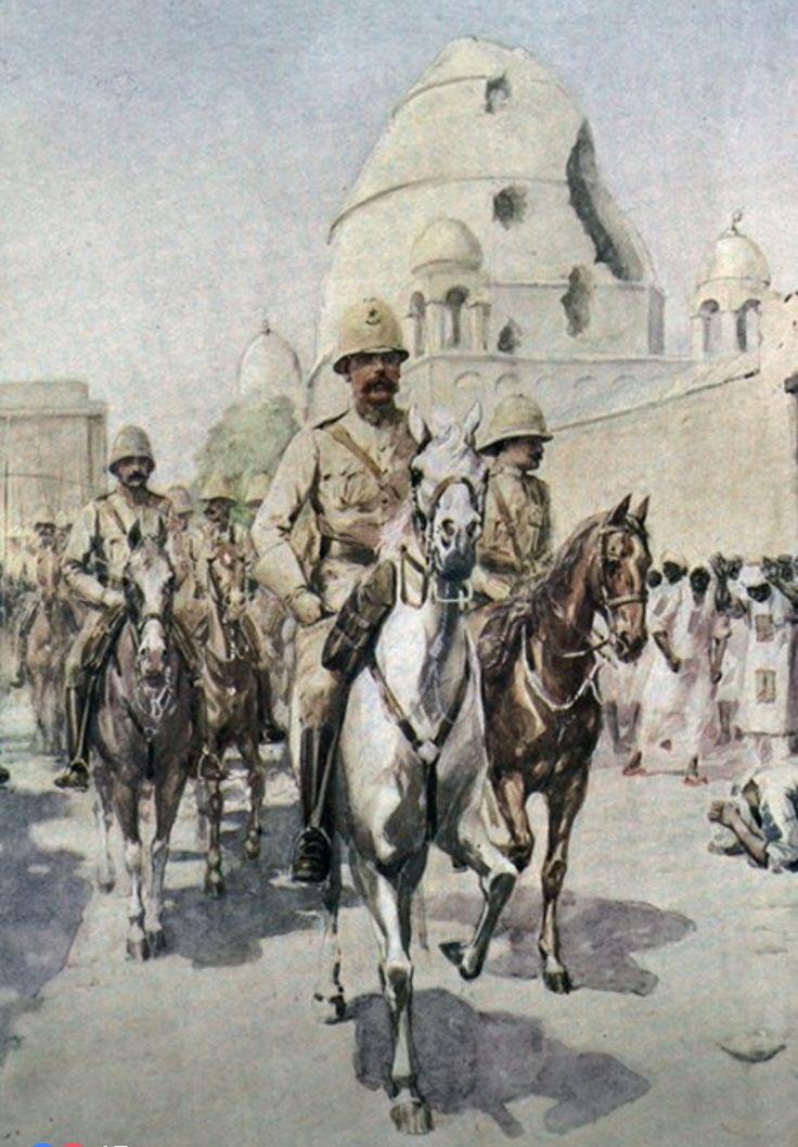 Kitchener Enters Khartoum 1898