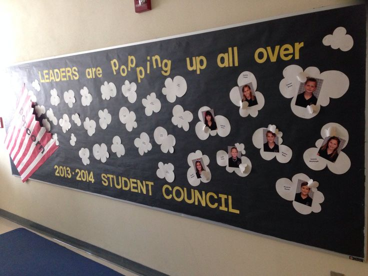 Student Council Display Board at Mary Bryant Elementary School, Tampa, FL