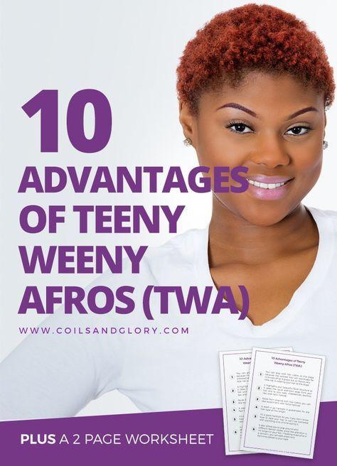 teeny weeny afro (twa)