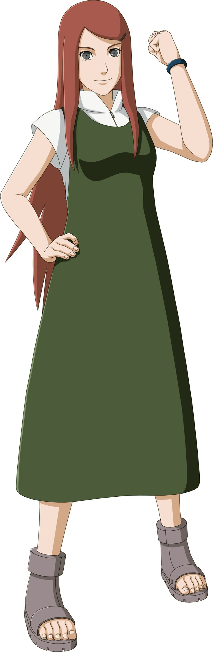"Kushina Uzumaki (うずまきクシナ, Uzumaki Kushina) was a Konohagakure kunoichi who originated from Uzushiogakure's Uzumaki clan. She was the second jinchūriki of the Nine-Tails and the mother of Naruto Uzumaki. Born into the famed Uzumaki clan of Uzushiogakure, Kushina lived most of her youth being caught-up in war, making her seek for a daily ""peace"". At a young age she was sent to Konoha and enrolled in the Academy."