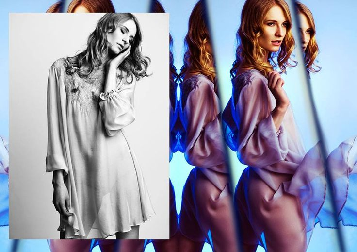 Silk & felted dreams <3   designer: Olga Pokrywka fot. Woszczyna&Wiesnowski model: Ania Piszczałka mua: Malwina Szablewska Make-up Artist prod&style: Hubert //POP UP STORY