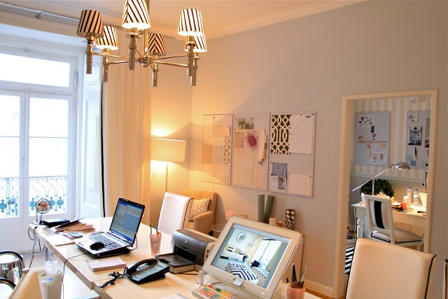 My black & white office - my assistants room