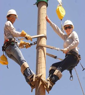 She is a Lineman for the County | News | Beyond.com