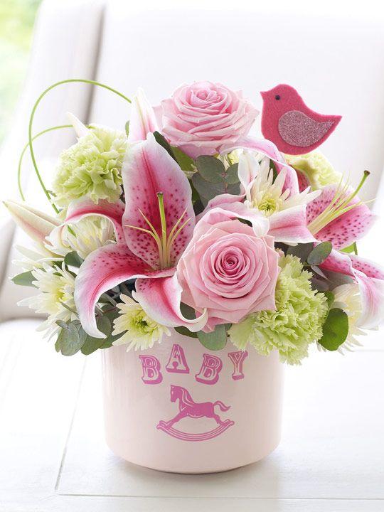 12 best New Baby Flower Arrangments! images on Pinterest ...