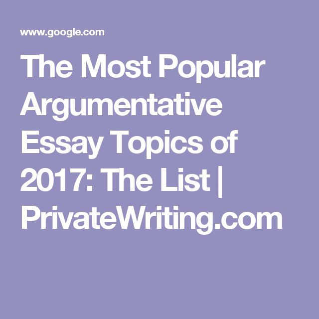 Argumentative Essay Incredibly hot Matters