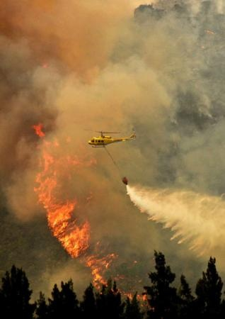 Fires sweep across Cape - Franschoek badly affected this week!