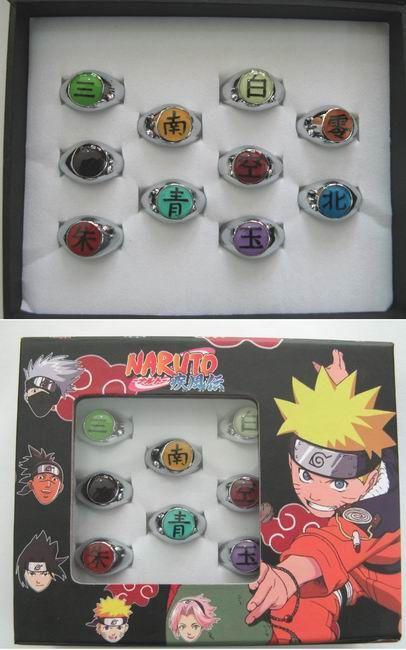 Naruto Rings NARG3040