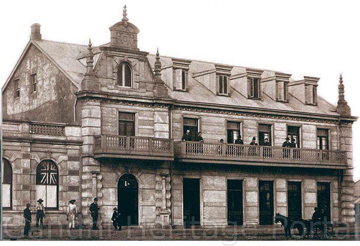 Grand National Hotel, where Mahatma Gandhi was refused accommodation in 1893.