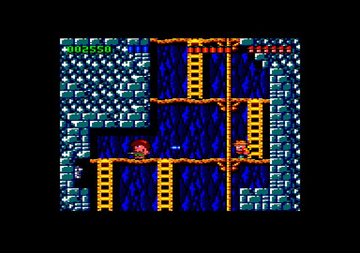 Rick Dangerous (Firebird / Core Design, 1989). Platformer / trial and error, also published on several platforms.