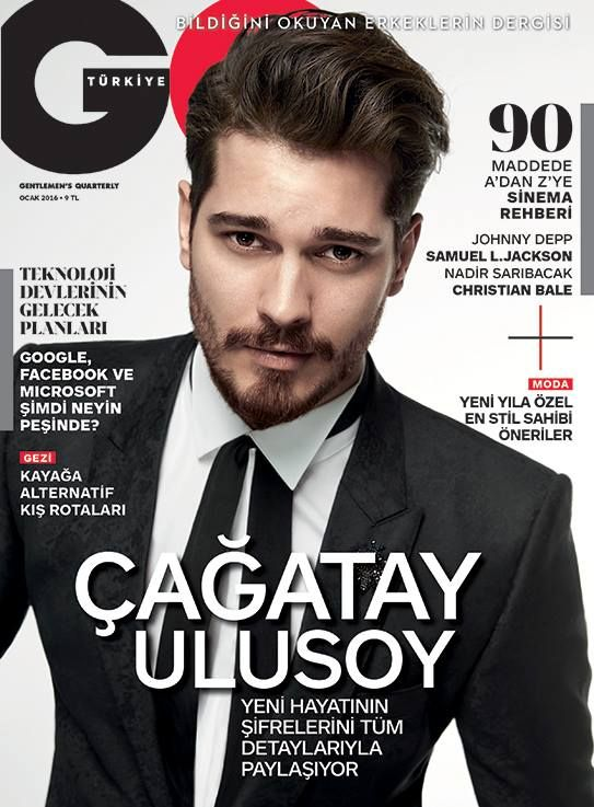 Çağatay Ulusoy para GQ Turquía Enero 2016 - Male Fashion Trends